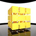 Flash Cubic 3D Panorama - 立方体型・全方位パノラマ(立体角4π[steradian])