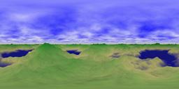 Flash 3D Spherical Panorama Viewer用 方眼射影 全方位パノラマ写真(立体角4π sr)